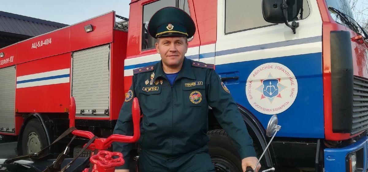 Барановичские спасатели рассказали о своей работе и о том, зачем реставрируют старую пожарную технику. Видео
