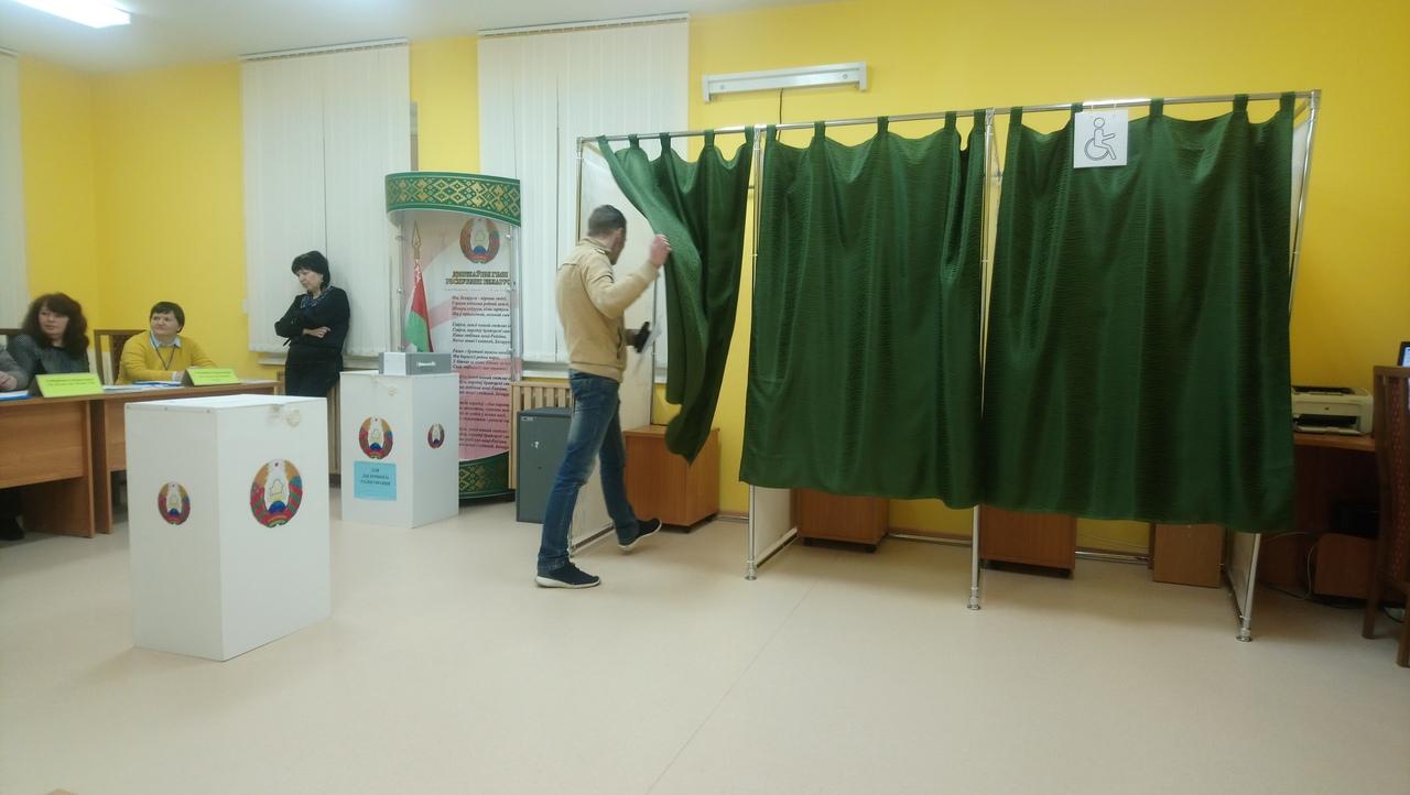 Избирательный участок №39. Фото: Людмила СТЕЦКО