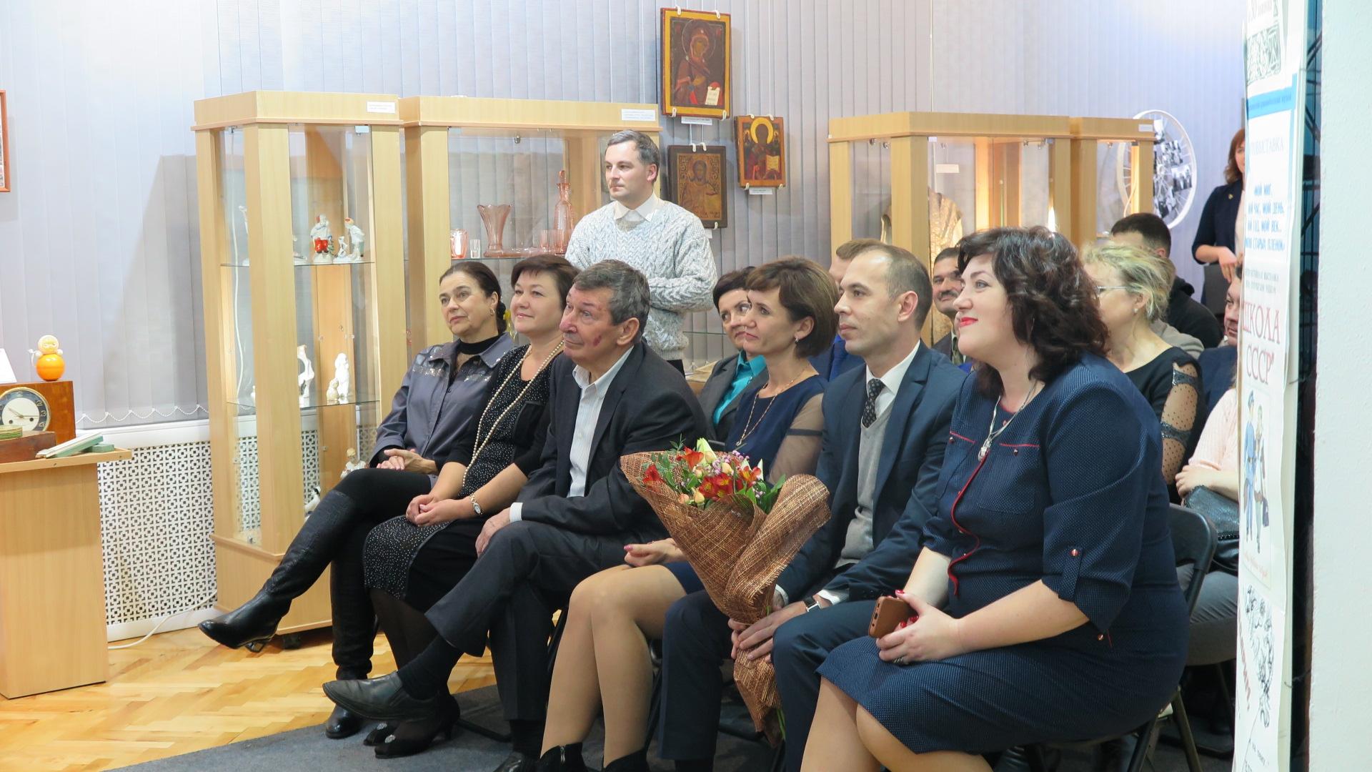 Приглашенные гости на открытии выставки. Фото: Диана КОСЯКИНА