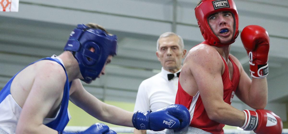Команда барановичских боксеров стала лучшей на Республиканской Спартакиаде