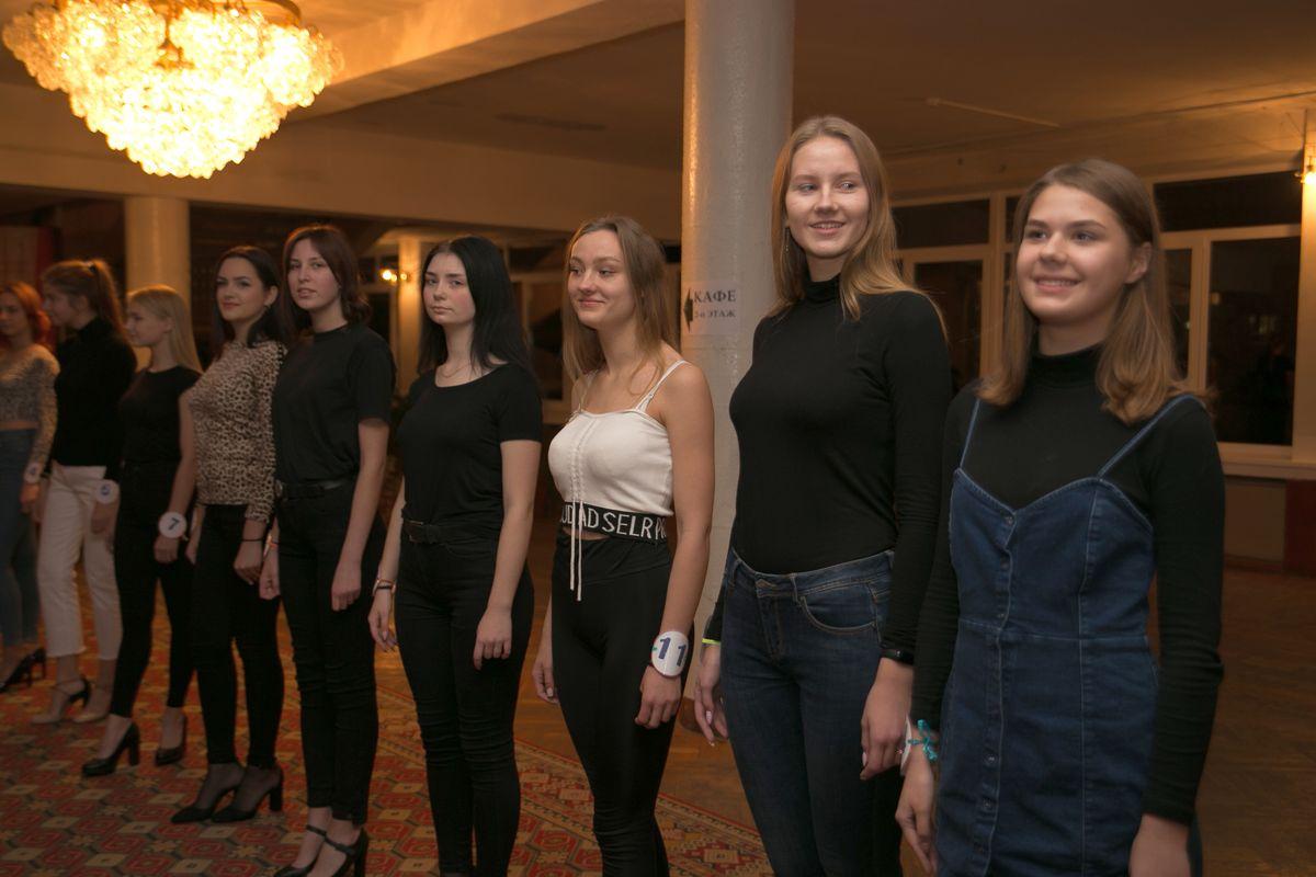 Участницы отборочного этапа. Фото: Александр ЧЕРНЫЙ