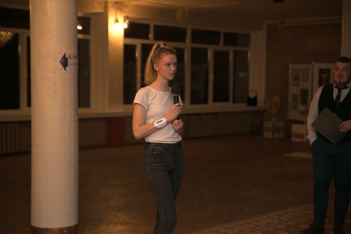 Участница №1 - Марта Бертош. Фото: Александр ЧЕРНЫЙ