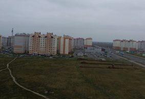 Новую школу начинают строить в Барановичах. Фотофакт