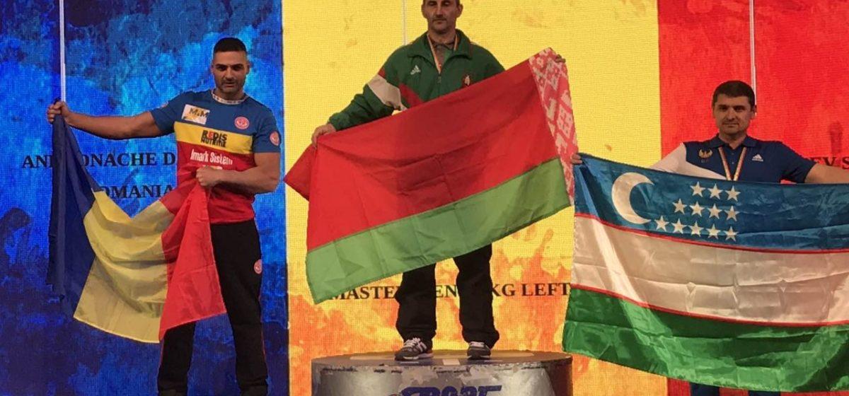 Барановичский спортсмен стал победителем чемпионата мира по армрестлингу
