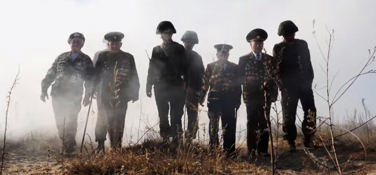 Ко Дню ракетных войск и артиллерии Минобороны сняло впечатляющий ролик с ветеранами ВОВ