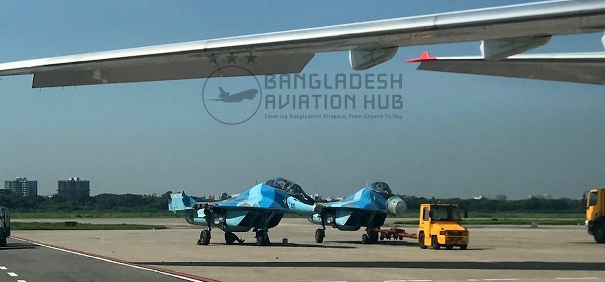 Самолеты МиГ-29 из Бангладеш отправили на ремонт в Барановичи. Фото