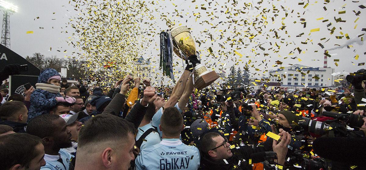 Брестское «Динамо» впервые в своей истории стало чемпионом Беларуси по футболу в высшей лиге