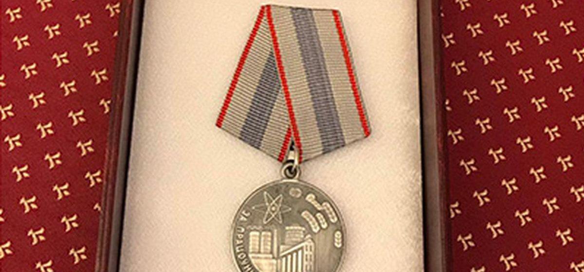 Два жителя Барановичей получили медали из рук премьер-министра страны