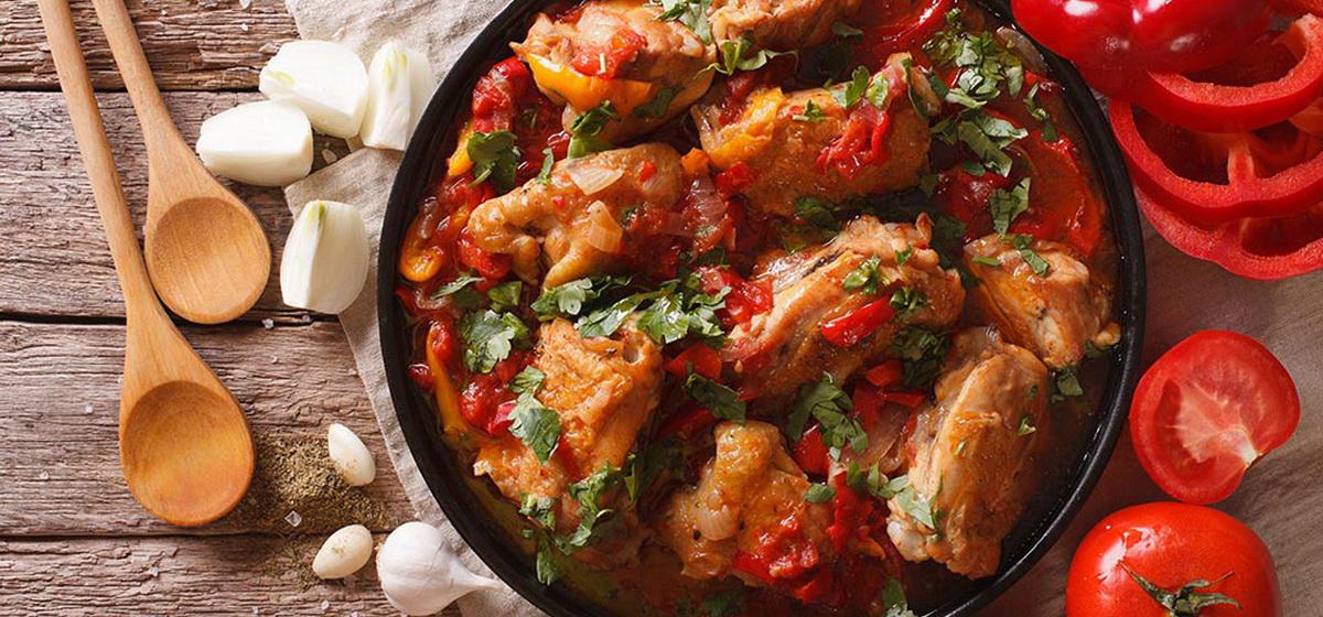 Вкусно и просто. Чахохбили из курицы по-грузински