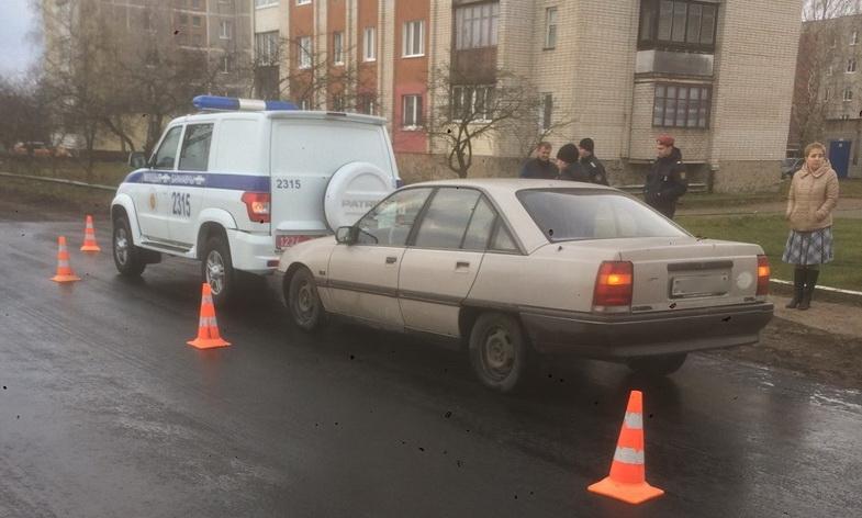Автомобиль милиции и «Опель» столкнулись в Барановичах