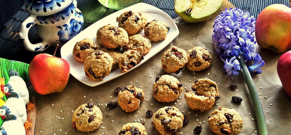 Вкусно и просто. Печенье на рассоле с отрубями
