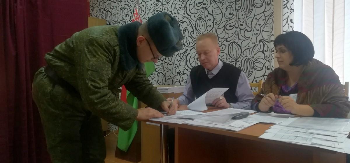 Явка на досрочное голосование в Барановичах выше, чем в целом по области и по стране