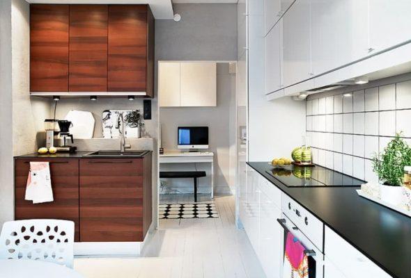 Маленькая кухня: от проекта до дизайна и выбора мебели