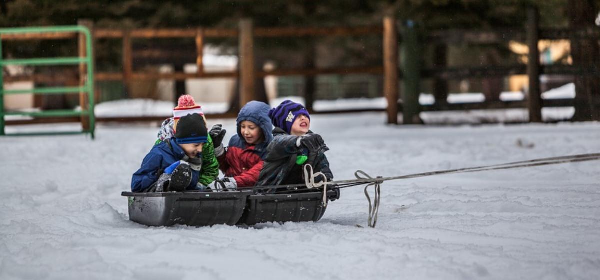 Тест. Помните ли вы зимние детские развлечения?