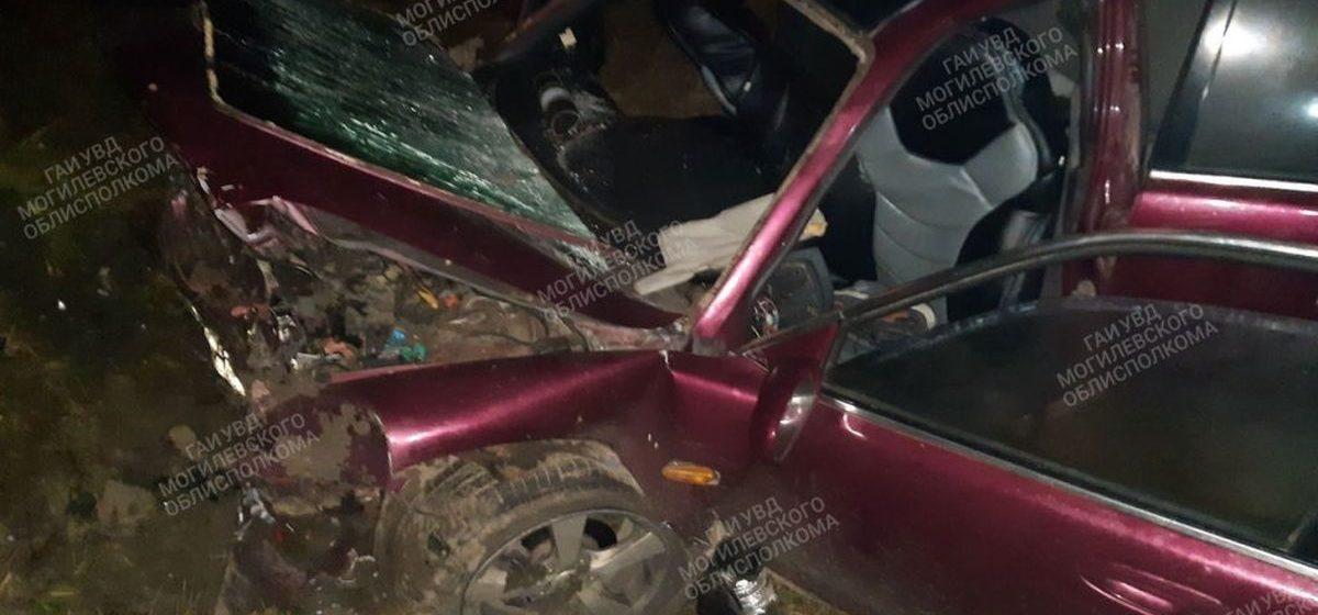 «Мазда» с пятью пассажирами вылетела в кювет в Хотимском районе — один человек погиб