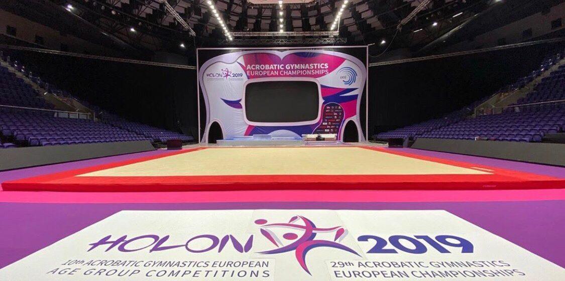 Барановичские акробатки успешно дебютировали на европейском турнире