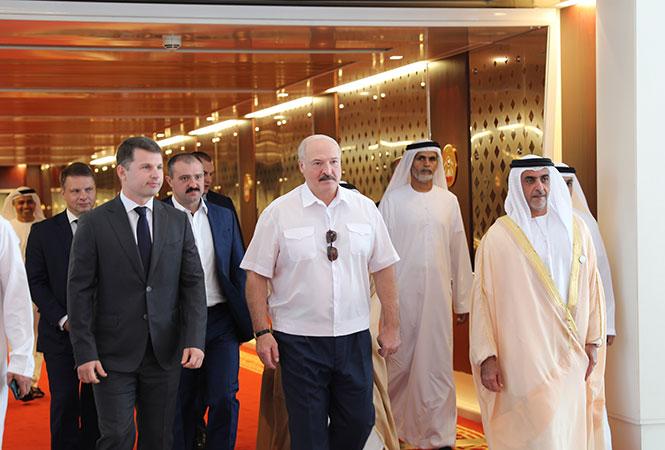 Визит Александра Лукашенко в Абу-Даби. Фото: president.gov.by