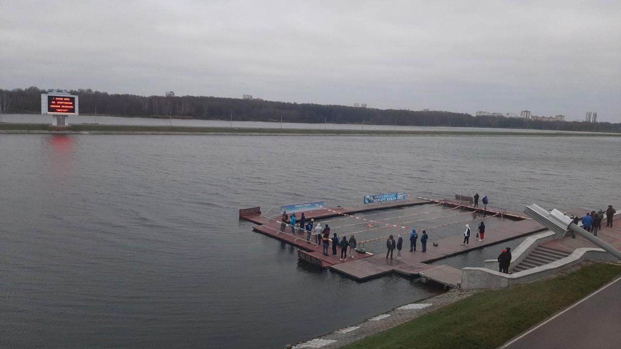 Территория Брестского гребного канала, где проходили соревнования. Фото: Владимир КНИГА