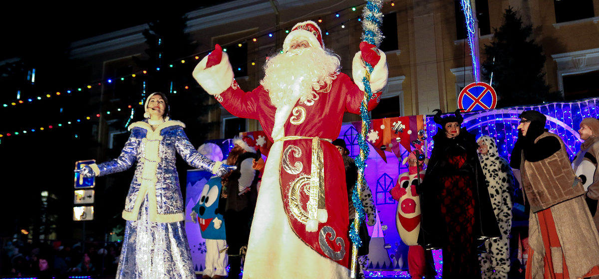 Торжественное открытие главной барановичской елки к Новому году - 2019. Фото: Александр ЧЕРНЫЙ