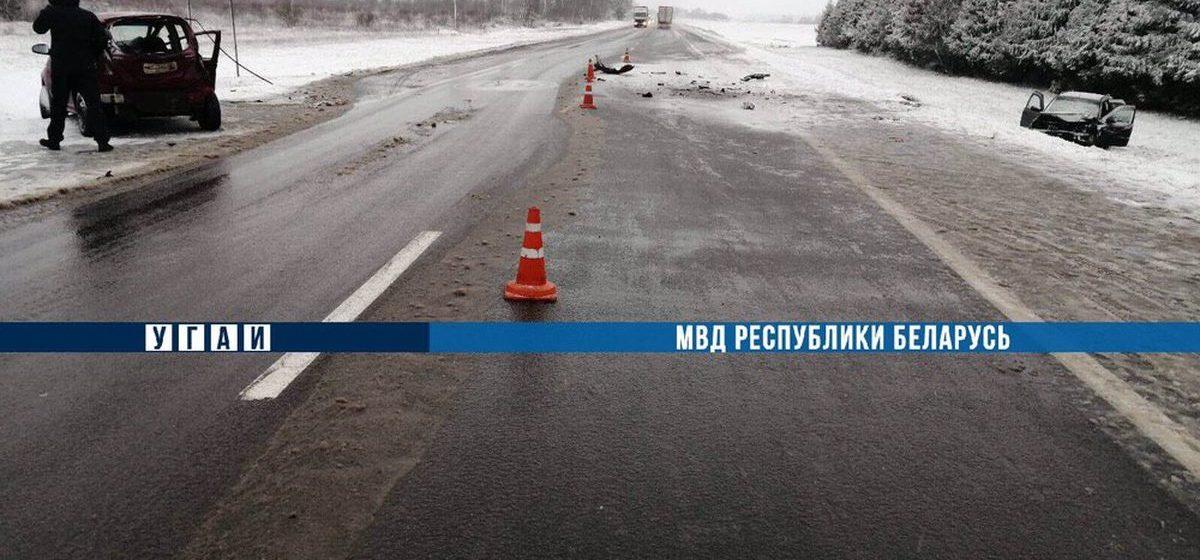 Chevrolet лоб в лоб столкнулся с Opel в Оршанском районе — погиб один человек