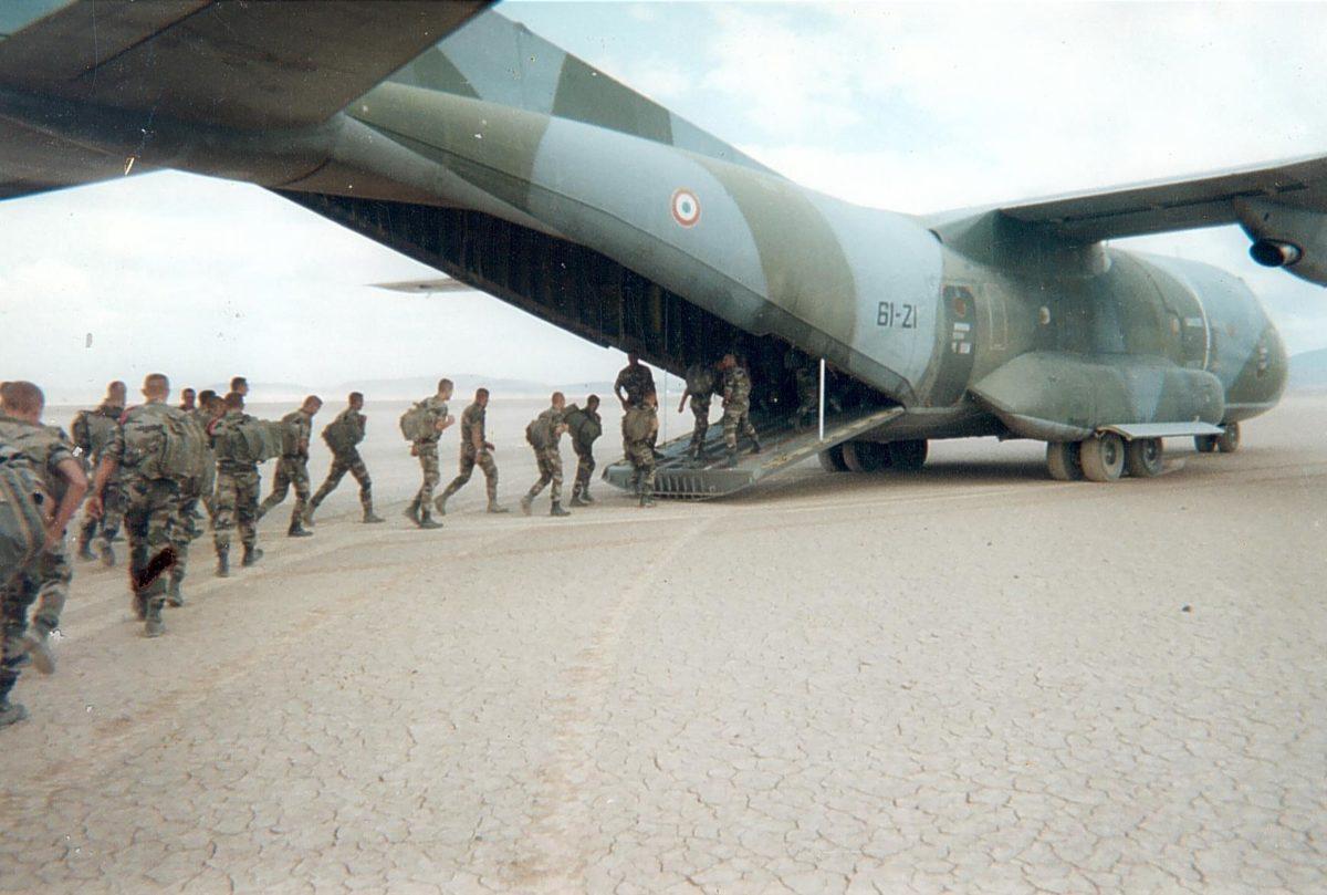 Десантники Иностранного легиона. Фото предоставлено героем интервью