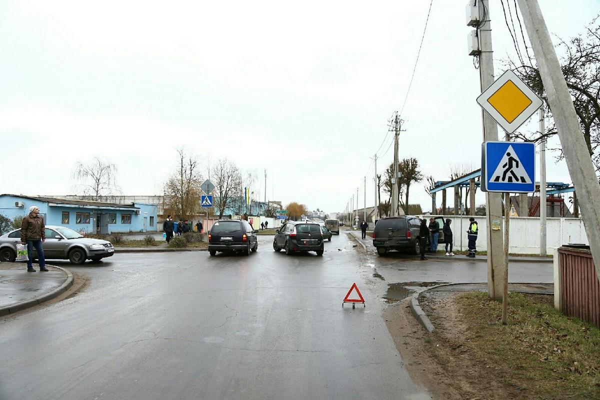 Место ДТП. Фото: Александр КОРОБ