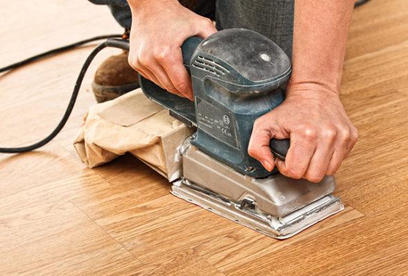 Основные правила шлифовки деревянного пола