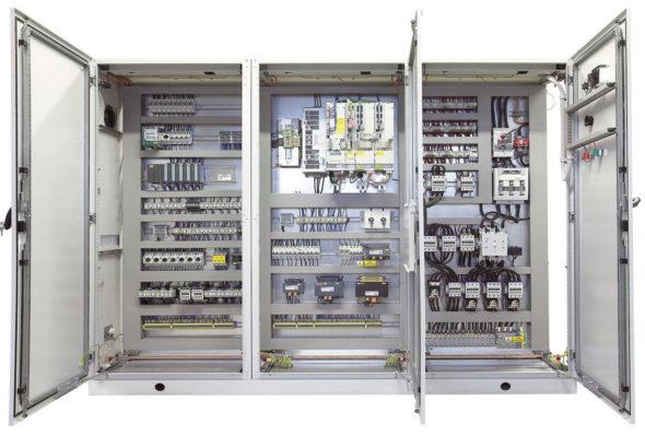 Шкафы (щиты) управления и автоматизации