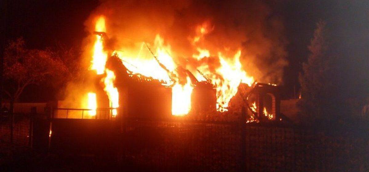 В Барановичском районе в огне погибла пенсионерка
