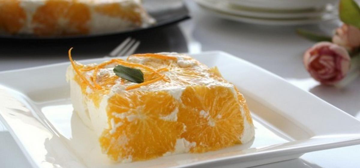 Вкусно и просто. Апельсиновый творожный десерт