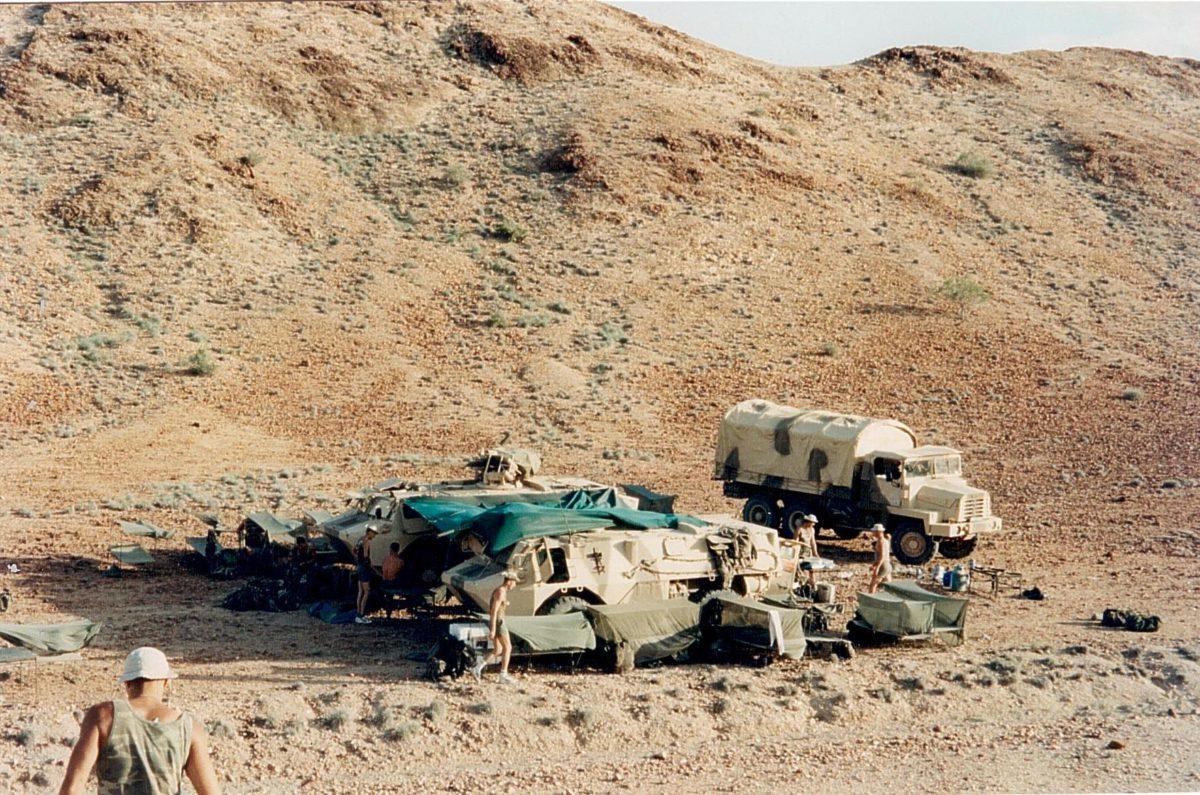 Иностранный легион в Африке. Фото предоставлено героем интервью