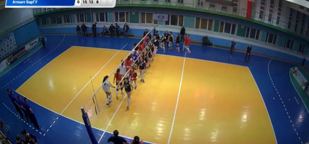 Волейболистки «Атланта-БарГУ» выбыли из Кубка Беларуси