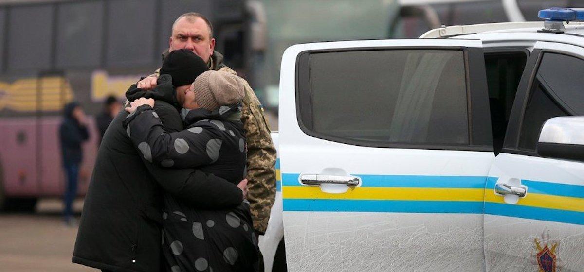 В Донбассе Украина и Россия обменялись пленными