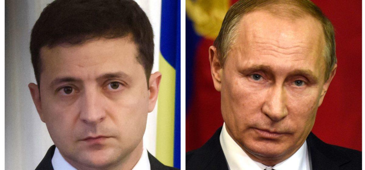 Первая встреча Путина и Зеленского. Онлайн-трансляция