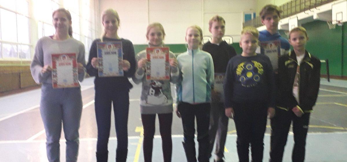 Юные барановичские теннисисты заняли второе место на областном первенстве
