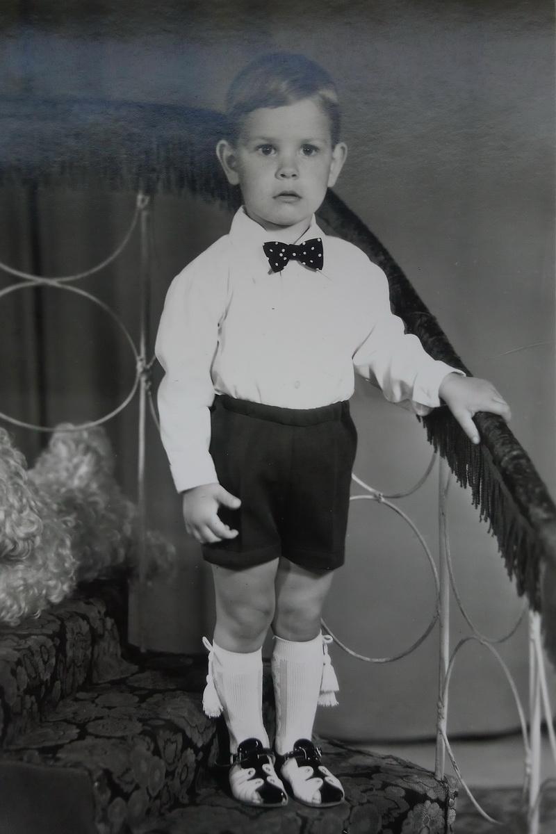 Андрей Жук в детстве. Фото: архив семьи ЖУК