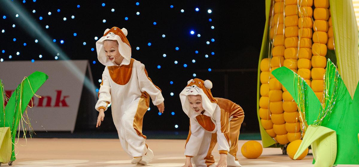 Маленькие барановичские грации привезли медали турнира Baby Cup