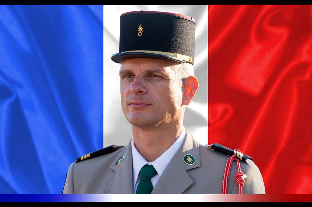 Андрей Жук погиб в Африке, посмертно удостоен высшей награды Франции. Фото: Министерство обороны Франции.