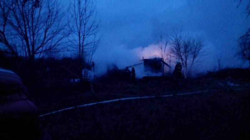 пожар, Барановичи
