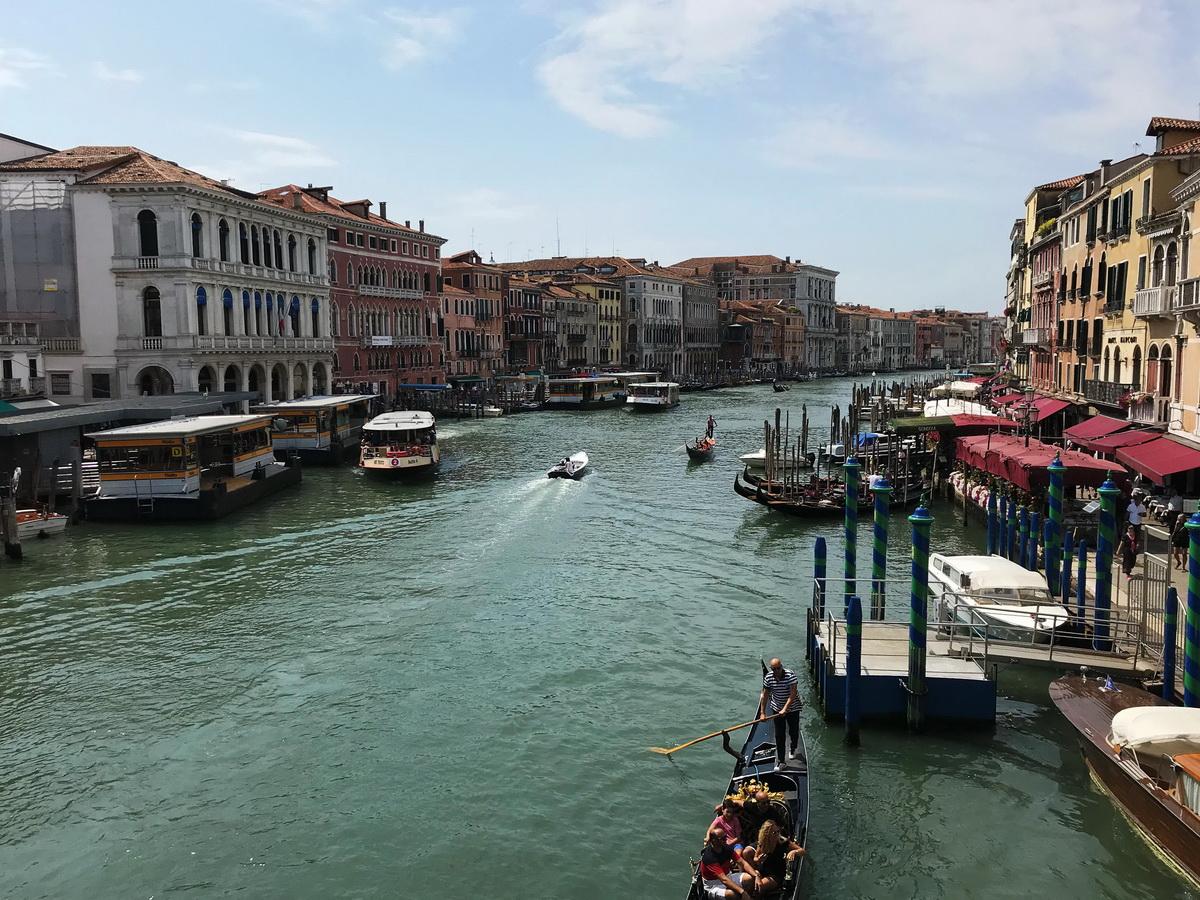 Каналы Венеции. Фото: архив семьи ЯКУШЕВИЧ