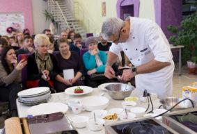 Итальянец научил учащихся Барановичского технологического колледжа готовить лобстера и пасту с трюфелями