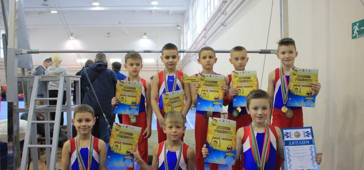 Барановичские ребята — призеры республиканского турнира по спортивной гимнастике