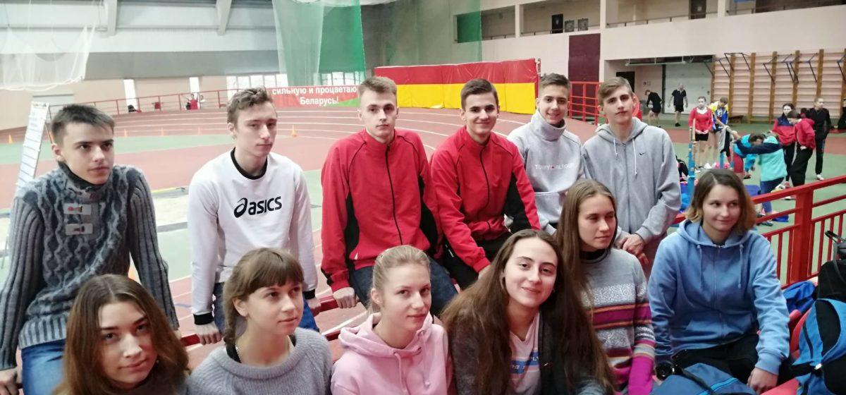 Команда барановичских легкоатлетов заняла 3-е место в областном первенстве