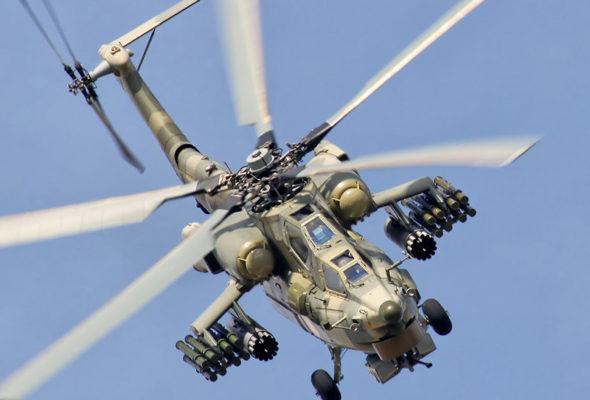Военный вертолет потерпел крушение на Кубани, есть погибшие