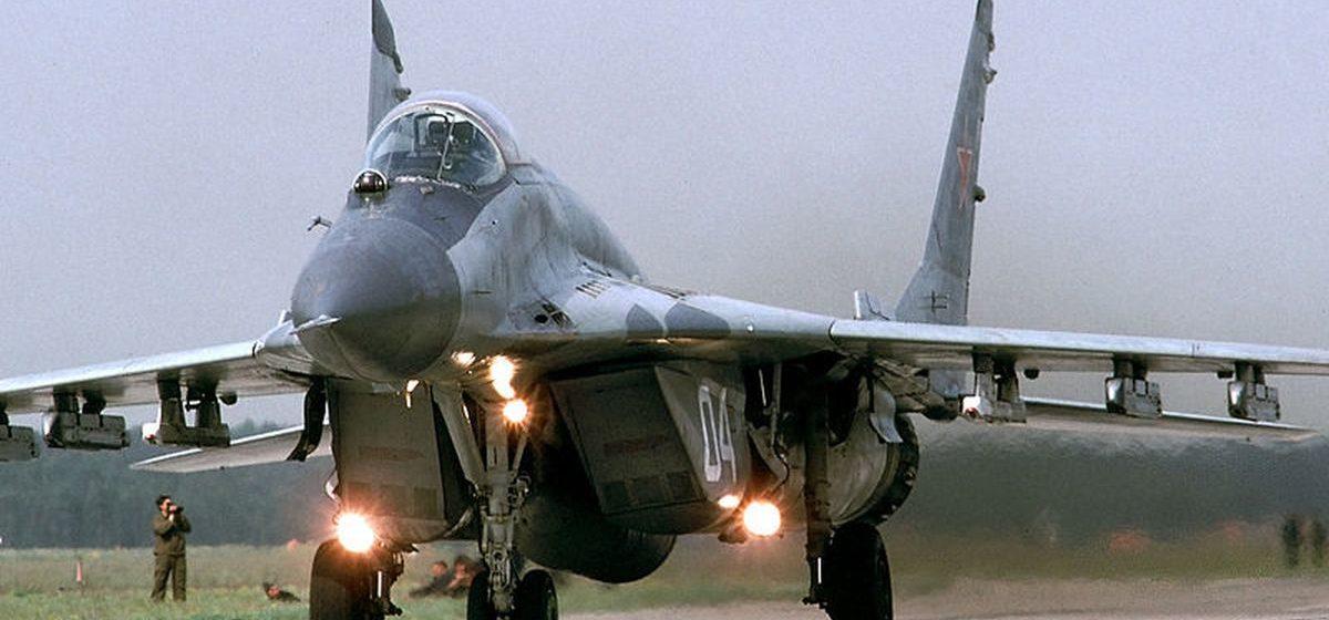 Истребитель российского производства МиГ-29 разбился в Египте