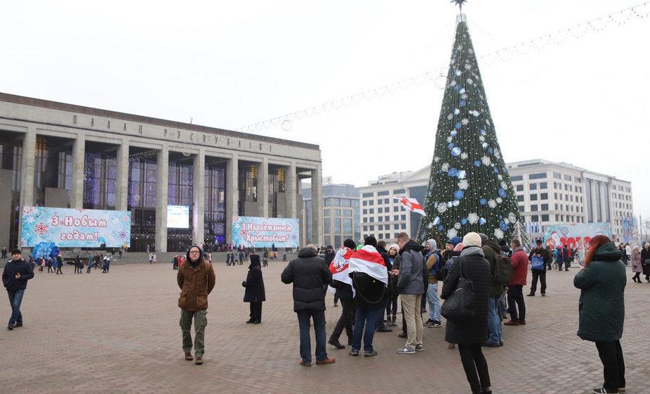Как в Минске проходит протест против интеграции Беларуси с Россией. Онлайн