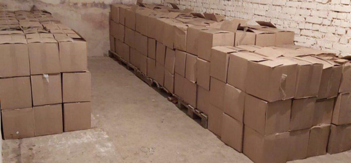В Барановичском районе задержана фура с 6000 литров спиртосодержащей жидкости