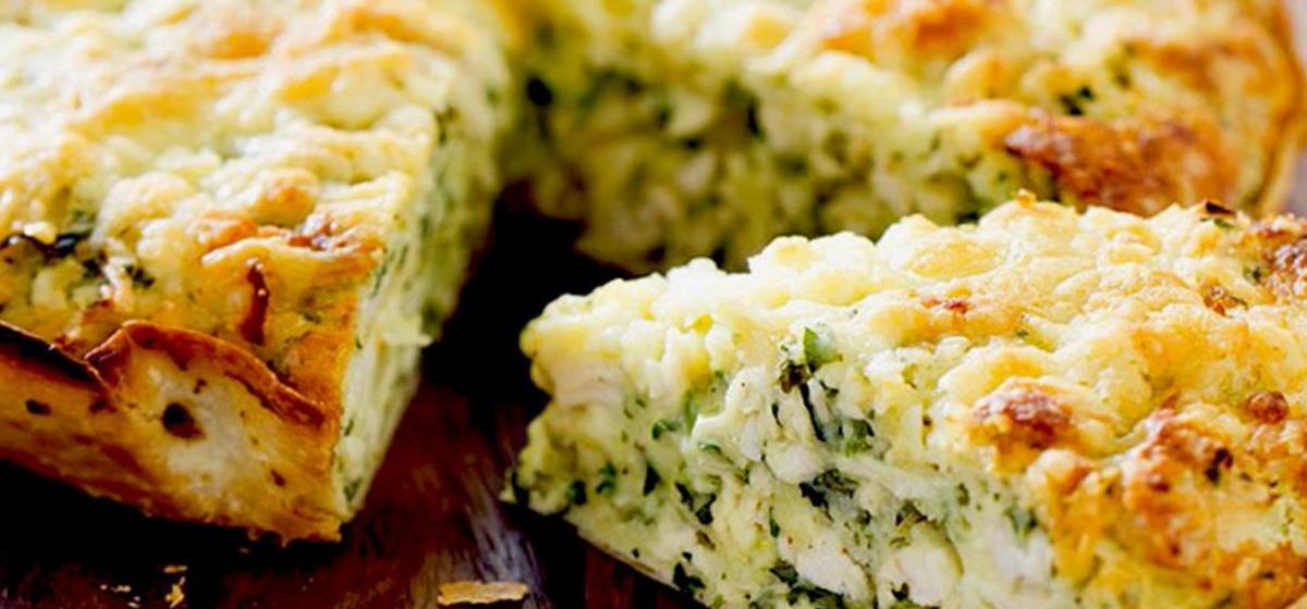 Вкусно и просто. Заливной пирог с капустой и сыром
