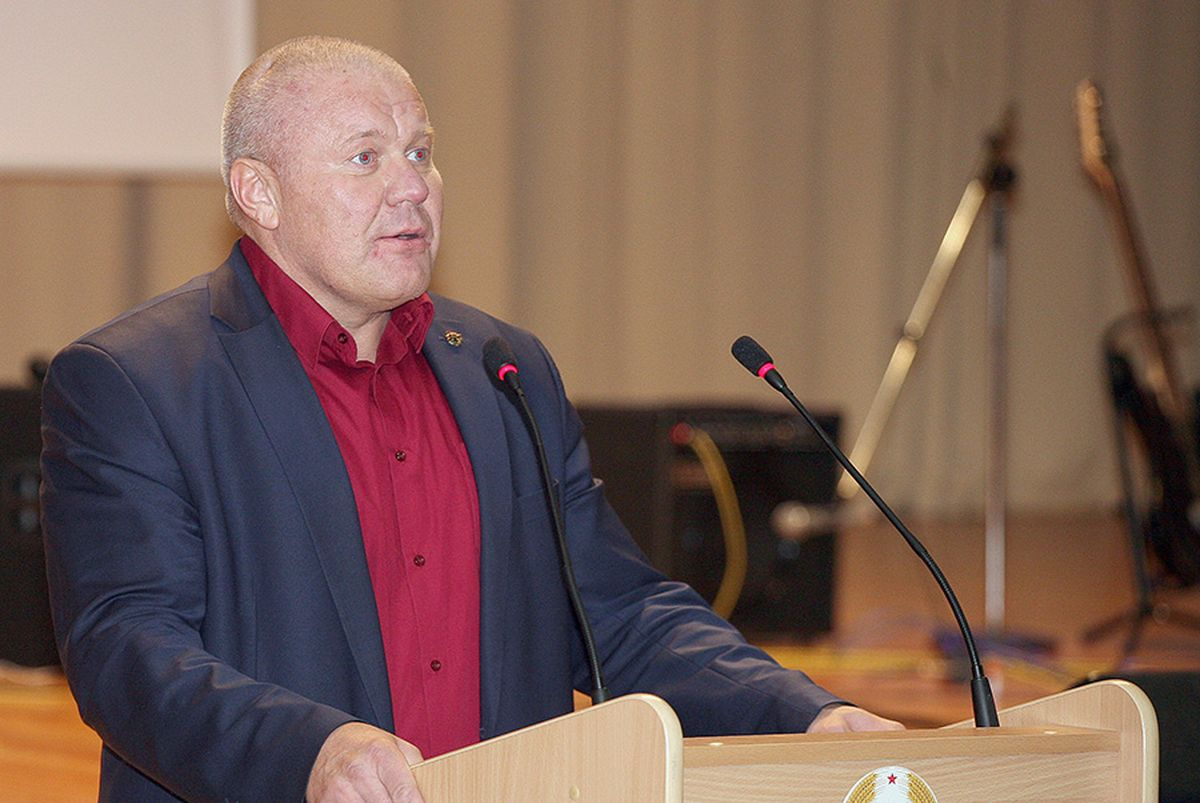 Экс-командир СОБРа Дмитрий Павличенко Фото: Беларусь сегодня