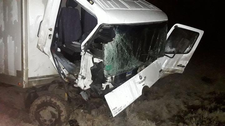 Грузовик протаранил трактор в Полоцком районе. Есть пострадавший